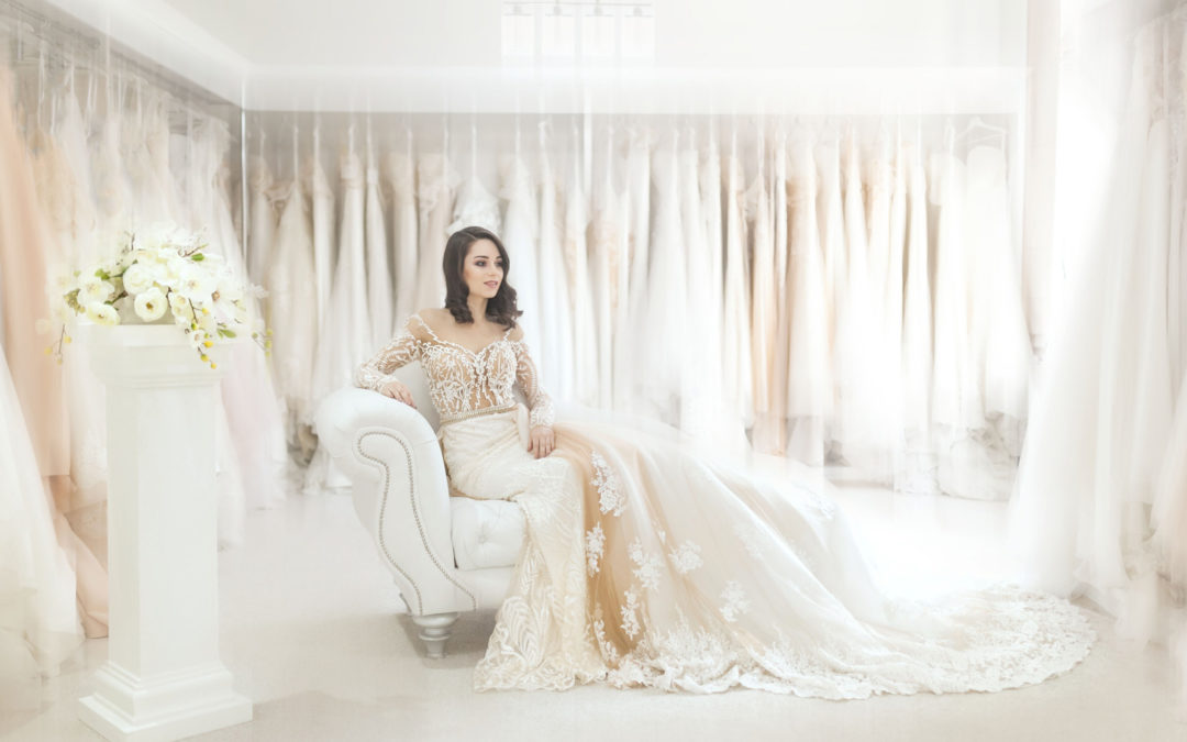 People ask all the time: do you love working at a bridal shop?